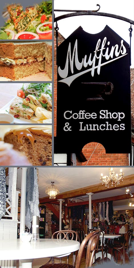 Muffins Cafe - Coffee shop & Lunches - Fine foods and relaxing atmosphere.